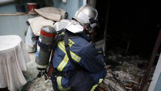 Νεκρός ηλικιωμένος από φωτιά σε μονοκατοικία στη Θεσσαλονίκη