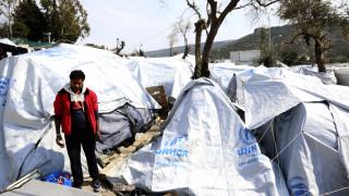 Μυτιλήνη: Απεργία πείνας στη Μόρια 12 Σύρων προσφύγων