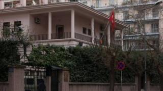 Επίθεση με μολότοφ έξω από το Τουρκικό Προξενείο στη Θεσσαλονίκη
