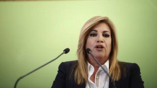 Γεννηματά: Η παραμονή του ΣΥΡΙΖΑ στην εξουσία βλάπτει σοβαρά την Ελλάδα...