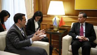 Συνάντηση Τσίπρα με τον Κινέζο ΥΠΕΞ: Βρισκόμαστε σε ένα στάδιο πολύ ουσιαστικής συνεργασίας (pic)