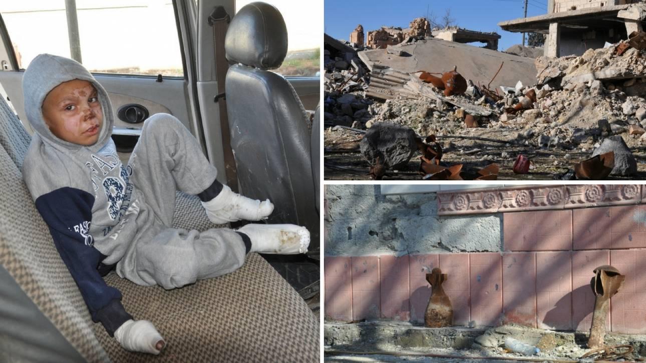 «Είδα τον γιο μου να πεθαίνει στα χέρια μου»: Η κραυγή ενός πατέρα για τα ναρκοπέδια της Συρίας