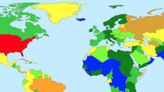 Χάρτης: Ο υπερπληθυσμός των φυλακών στον κόσμο σε ένα χάρτη