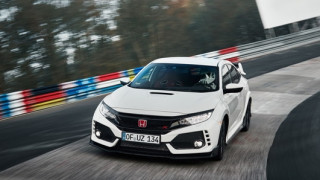 Το καινούργιο Honda Civic Type R είναι και πάλι ο προσθιοκίνητος βασιλιάς του Nuerburgring
