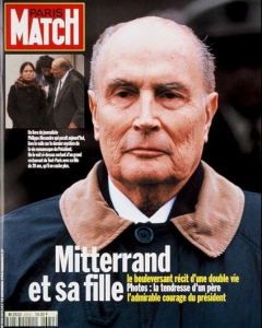 Une Match Mitterrand large