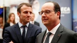 Ο Πρόεδρος Ολάντ καλεί τους Γάλλους να ψηφίσουν Μακρόν