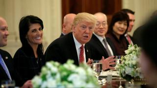 Η απόφαση του Τραμπ για τη Βόρεια Κορέα - Μύδροι κατά του Συμβουλίου Ασφαλείας