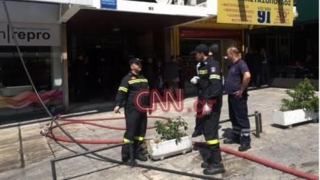 Ένας νεκρός από πυρκαγιά σε διαμέρισμα στην Λεωφόρο Αλεξάνδρας