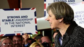 Δημοσκόπηση Βρετανία: Μεγάλο προβάδισμα στους Συντηρητικούς της Μέι