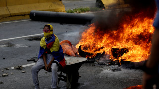 Χωρίς τέλος το χάος στη Βενεζουέλα - Άλλοι δύο νεκροί (pics)