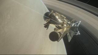 Google Doodle: Το διαστημόπλοιο Cassini στο τελευταίο του ταξίδι (pics&vid)