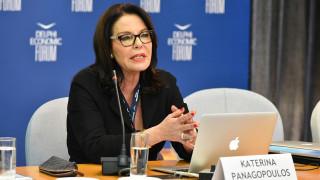 Η Κατερίνα Παναγοπούλου τιμάται με βράβευση από την ομογένεια