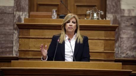 Διακομματική Επιτροπή για το Δημογραφικό ζητά η Φώφη Γεννηματά