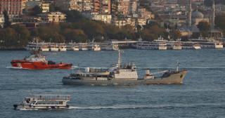 Σύγκρουση ρωσικού πολεμικού πλοίου με εμπορικό στον Βόσπορο
