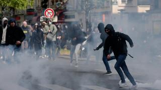 Ξεσηκωμός των μαθητών στη Γαλλία και άγρια επεισόδια (pics)