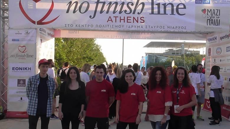 IEK ΑΛΦΑ: Επίσημος Υποστηρικτής Εκπαίδευσης στον φιλανθρωπικό αγώνα «Νο Finish Line»!