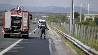 Πάτρα: Φωτιά σε λεωφορείο που μετέφερε μαθητές (pisc&vid)