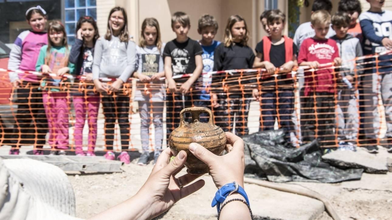 Σπουδαίο εύρημα στη Σαλαμίνα: Εντοπίστηκε μυκηναϊκός θαλαμοειδής τάφος