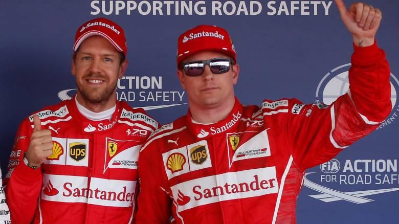 F1: Ιστορική pole position για τις Ferrari στην Ρωσία (vid)
