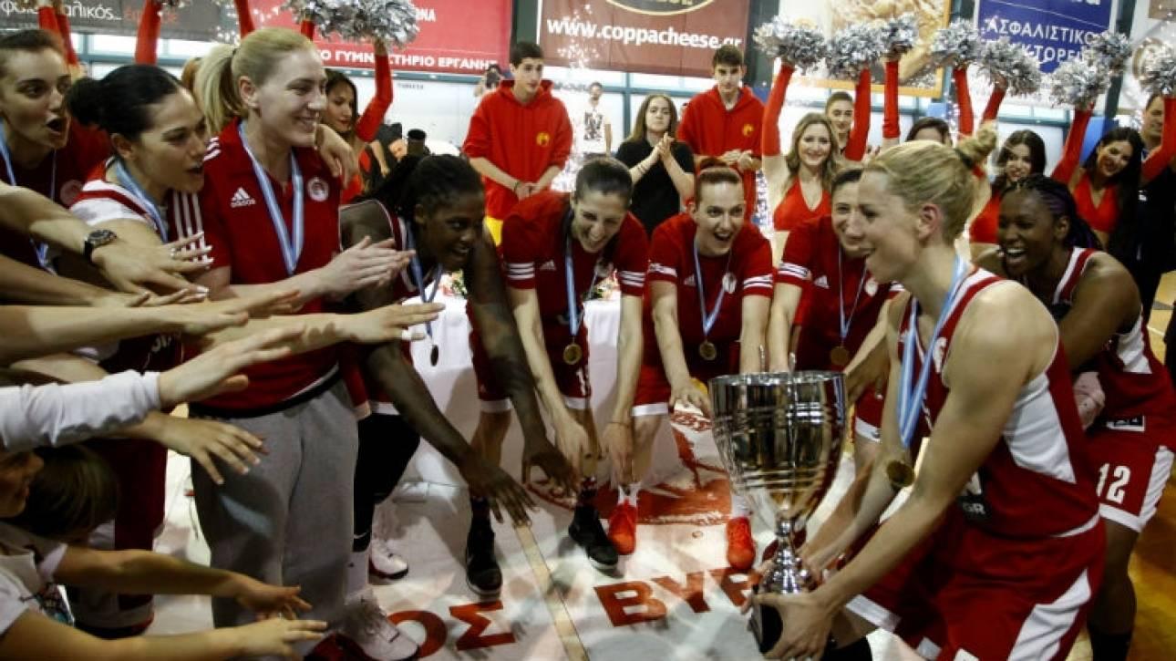 Α1 μπάσκετ γυναικών: 2ο συνεχόμενο πρωτάθλημα για τον Ολυμπιακό (vid)