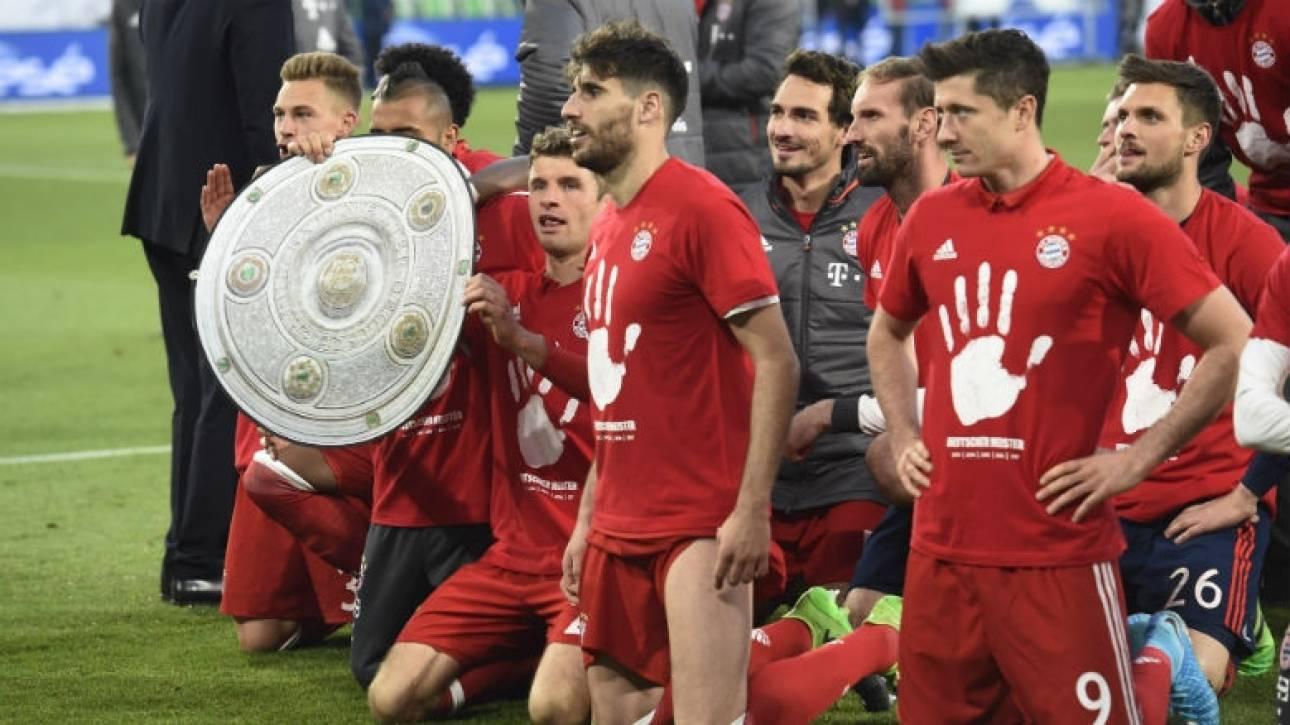 Bundesliga: 5ο συνεχόμενο πρωτάθλημα για την Μπάγερν (vid)
