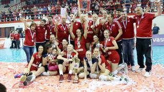 Βόλεϊ γυναικών: Πρωταθλητής για 5η χρονιά ο Ολυμπιακός (vid)