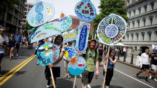 Μεγαλειώδης πορεία στην Ουάσιγκτον για την κλιματική αλλαγή (pics&vids)