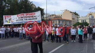 Πρωτομαγιά: Οι συγκεντρώσεις στο κέντρο της Αθήνας
