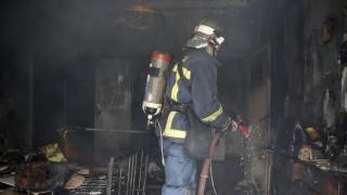 Ένας νεκρός από πυρκαγιά σε εγκαταλελειμμένη οικία στον Άγιο Ελευθέριο Αττικής