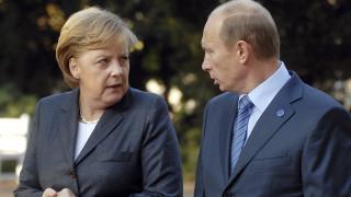Συνάντηση Πούτιν - Μέρκελ στο Σότσι