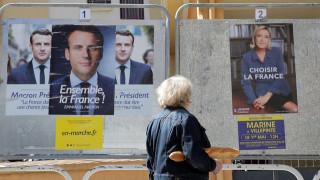 Δημοσκόπηση Γαλλία: Με 20 μονάδες μπροστά ο Μακρόν