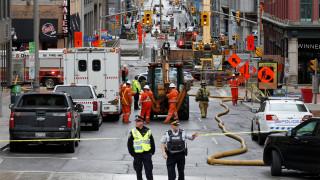 Καναδάς: Εκκενώθηκαν κτίρια λόγω ρήξης αγωγού φυσικού αερίου (pics&vids)
