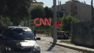 Γλυκά Νερά: Αυτό είναι το αυτοκίνητο των δραστών - Το έκαψαν και διέφυγαν με μηχανές (pics)