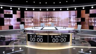 Μακρόν vs Λεπέν: Κρίσιμο debate πριν από τον δεύτερο γύρο των γαλλικών εκλογών (pics&vids)