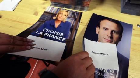 Το αμφιλεγόμενο εξώφυλλο του Charlie Hebdo για τις γαλλικές εκλογές