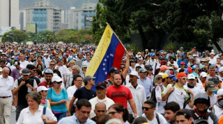 Βενεζουέλα: Ανεβαίνει ο αριθμός των νεκρών από τις βίαιες διαδηλώσεις (pics)