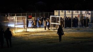 Χίος: Επεισόδια στον καταυλισμό της ΒΙΑΛ (vid)