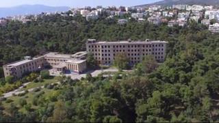 ΝΙΕΝ: Το νοσοκομείο «φάντασμα» της Πεντέλης από ψηλά (vid)