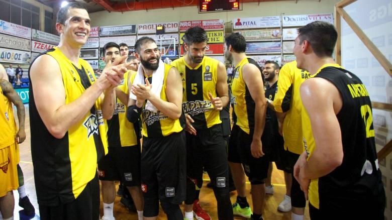 Α1 μπάσκετ: Νίκη και στο Ρέθυμνο η ΑΕΚ, προκρίθηκε στα ημιτελικά