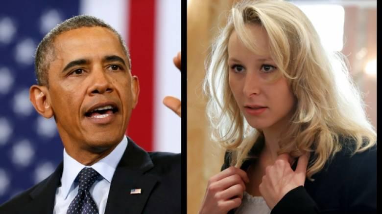Η ανιψιά της Λεπέν τα βάζει με τον Ομπάμα (vid)