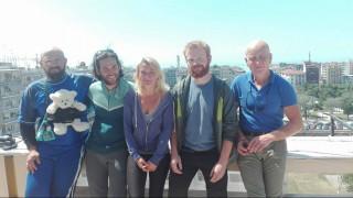Στη Θεσσαλονίκη μέλη της πορείας για ειρήνη στο Χαλέπι