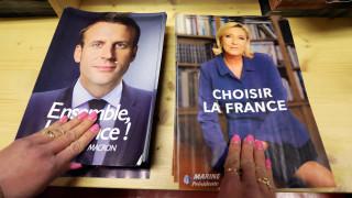 Εκλογές Γαλλία: Ανοίγει η ψαλίδα υπέρ του Μακρόν, «καμπανάκι» Ολάντ για τα πυρηνικά όπλα