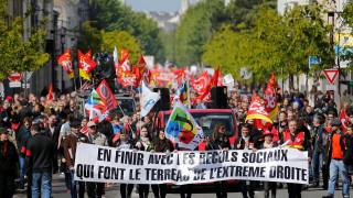 Δύσκολη η πρώτη ημέρα για τον Γάλλο πρόεδρο - Ετοιμάζουν διαδηλώσεις