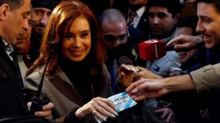 Στην Αθήνα η τέως πρόεδρος της Αργεντινής Κριστίνα Φερνάντες ντε Κίρχνερ