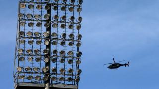 Ο Ιβάν Σαββίδης έφτασε με ελικόπτερο στο κέντρο του γηπέδου (vid)