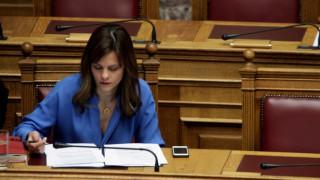 Αχτσιόγλου: Το κλείσιμο της αξιολόγησης θα οδηγήσει στην έξοδο από την επιτροπεία