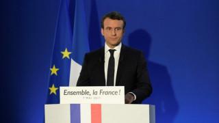 Γαλλικές εκλογές: Οι πρώτες δηλώσεις του Εμανουέλ Μακρόν