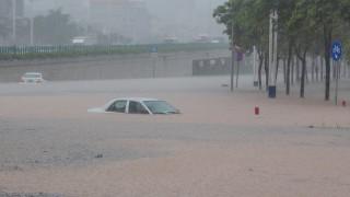 Μπλε συναγερμός στην Κίνα: Έρχονται σφοδρές καταιγίδες