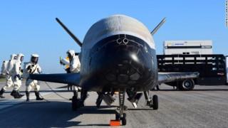 Το «μυστικό αεροσκάφος» της Αεροπορίας των ΗΠΑ προσγειώθηκε στη Γη με εκκωφαντικό θόρυβο