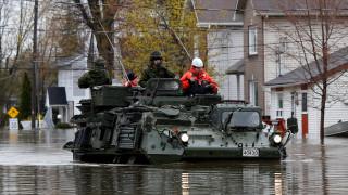 Σε κατάσταση έκτακτης ανάγκης το Μόντρεαλ λόγω πλημμυρών (pics)